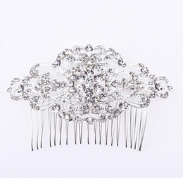 $enCountryForm.capitalKeyWord UK - Bling Bling Crystal 2018 New Arrial Bridal Headpieces High Quality Vintage Combs Luxurious Bridal Accessories Wedding Decorations