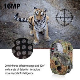 "Motion Games Australia - 32GB Memory Trail Camera 16MP 1080P Night Vision Game Camera Motion Activated Wildlife Hunting Cam 2.0"" LCD Display IP56 waterproof DV53"