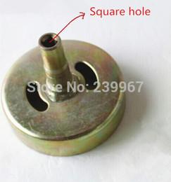 $enCountryForm.capitalKeyWord UK - Clutch drum  Clutch Sprocket square hole for Honda GX31 GX35 Robin NB411 Mitsubishi TL33 TL43 TL50 TL52 T180 T200 T240 CG330 430