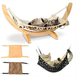 Discount nylon cage - Warm Cat Hammock Fur Bed Hanging Cat Cage Ferret Rest House Soft Pets Supplies Household items pet supplies cat supplies