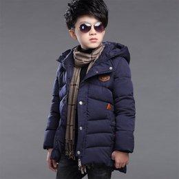 $enCountryForm.capitalKeyWord NZ - New baby Boys Winter Coat 6 to 14 Years Hooded Children Solid Down Baby Boy Winter Jacket Boys Kids Warm Outerwear Parks