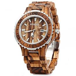 $enCountryForm.capitalKeyWord UK - Bewell New Men's Analogue Quartz Wooden Watch with Wood Bracelet W100BG 1pcs  free shipping (Multi Colors)