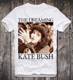 ce016bd52 T-Shirt KATE BUSH THE DREAMING RETRO VINTAGE POP ROCK 80s INDIE BJÖRK 2018  New Men T-Shirts top Quality Cotton