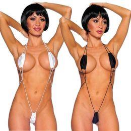 Venta al por mayor de Lencería sexy de tres puntos tipo Hot Erotic Women Underwear Transparente Teddies lenceria bikini sexy trajes de porno