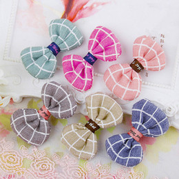 $enCountryForm.capitalKeyWord Australia - 30pcs lot Pet Products Dog Grooming Accessories Hairpins Cat Hair Clips Brand New Dog Hair Bows Boutique Retail Wholesale