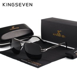 brand x sunglasses NZ - X KINGSEVE Brand Unisex Aluminum Square Men's Polarized Mirror Sun Glasses Female Eyewears Accessories Sunglasses For Men K738