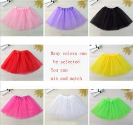 $enCountryForm.capitalKeyWord NZ - 10 colors Top Quality candy color kids tutus skirt dance dresses soft tutu dress ballet skirt 3layers children pettiskirt clothes
