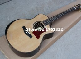 eq fishman 2018 - Wholesale 914 41-inch acoustic guitar with ebony fingerboard,pearl binding,can add fishman pickup EQ. Can be customized