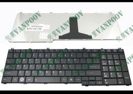 Nuevo teclado de computadora portátil para Toshiba Satellite C650 C655D C660 L650 L650 L675 L675 L750 L755 Negro versión de Estados Unidos - MP-09N13US-698