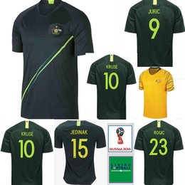ea404785d ... ireland australia soccer jersey thai quality 2018 world cup cahill  luongo leckie jedinak custom home away
