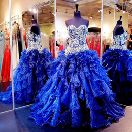 $enCountryForm.capitalKeyWord Canada - Sweet Sixteen Dresses Quinceanera Real Picture 2016 Sweetheart Beading Crystal Lace Up Organza Ball Prom Formal 16 Years 15 Gowns Vetidos