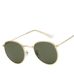 c5a3de6af2a Round Sunglasses Women Brand Designer Vintage Metal Cheap Sun glasses for Female  High Quality Glasses Retro Small Circle Eyewear