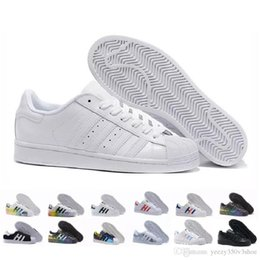 China Superstar Original White Hologram Iridescent Junior Gold Superstars Sneakers Originals Super Star Women Men Sport Casual Shoes 36-45 supplier green gingham suppliers