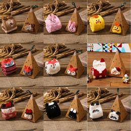 Spring Women Velvet NZ - 27 Styles Christmas Gift 3D Design Fluffy Coral Velvet Thick Warm Socks For Women Towel Floor Sleeping Sock with Gift Box