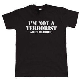 fa292405 Funny dad t shirts online shopping - I m Not A Terrorist Mens Funny Beard T