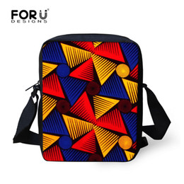 FORUDESIGNS African Traditional 3D Printing Women Shoulder Bag Crossbody  Bags For Kids Girl Small Travel Retro Purses  Wallets d3d5acb5c65c6