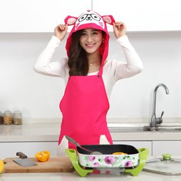 $enCountryForm.capitalKeyWord NZ - Cute Sheep Aprons Kitchen Restaurant Cooking Aprons With Pocket and Hat Women anti-oil High Quality D