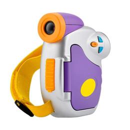 Mini Digital Audio NZ - Cartoon Mini Kids Digital Camera High-definition 5.0MP 1.44 inch COMS 1.3MP 4X Zoom Children DV Camcorder Support Webcam Audio