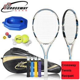 $enCountryForm.capitalKeyWord NZ - Crossway Brand Tennis Racquet Carbon Fiber Tennis Racket Raquete De Tenis Homme With String Bag Raquetas De Tenis Profesionales