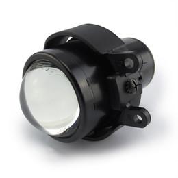 ToyoTa rav4 lighTs online shopping - Front bumper headlights low high beam sport bifocal lens fog lights lamp holder house for toyota prado LAND CRUISER FJ150 COROLLA CAMRY RAV4