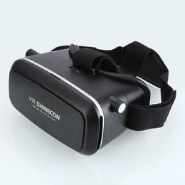 Neues Produkt Schwarz 3D Virtual Reality Brille Taucherhelm Headset Box Kopf Befestigung an 3,5-6,0 Zoll Bildschirm Handys