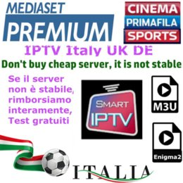 IPTV ITALIE M3U Enigma2 MAG BOX VOD et LIVE Best IPTV Italie