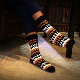 Underwear & Sleepwears 5 Pairs A Lot Happy Socks Colorful Cotton Winter Funny Dress Mens Socks Brand Art Novelty Warm Socks Socken Herren 35 Below