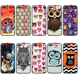 $enCountryForm.capitalKeyWord NZ - colorful the best one of owls owl Soft Black TPU Phone Case for iPhone XS Max XR 6 6s 7 8 Plus 5 5s SE Cover