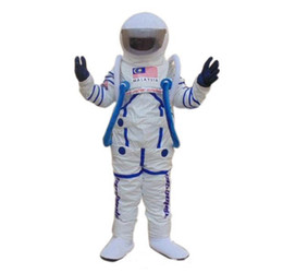 Wholesale space suits resale online - 2018 High quality hot Space suit mascot costume Astronaut mascot costume