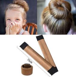$enCountryForm.capitalKeyWord UK - MISM 5.9 inch 15CM Girls Wig Hair Curls Accessories Bud Ball Hair Band French Periwig Tool Twist Kids Bun Maker Child Drop Ship