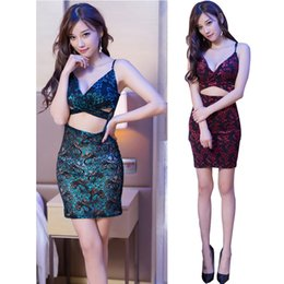 Discount porn women costume - Women Sexy Lingerie Satin Lace Sexy Embroidered Cheongsam Dresse Uniforms Pajamas Temptation Erotic Underwear Porn Costu