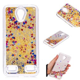 $enCountryForm.capitalKeyWord NZ - Cover For ZTE Blade A520 Case Quicksand Flash Glitter Powder Mirror Hard Mobile phone Cases Covers For ZTE A520