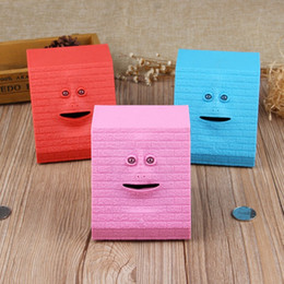 Box eat online shopping - Lovely Piggy Banks Home Decoration Children Toy Gift Face Bank Eating Coins Box Multi Color New xf C