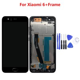 """$enCountryForm.capitalKeyWord UK - For Xiaomi Mi 6 Mi6 LCD Display With Touch Screen With Frame Digitizer Assembly NEW For 5.15"""" Xiaomi Mi6 LCD Replacement Parts"""