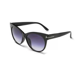 Cateye Style Sunglasses Fashion Brand Designer Cat Eye Women Sunglasses  Female Gradient Points Sun Glasses Big Oculos feminino de sol TF0430 c873996ff7