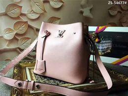 $enCountryForm.capitalKeyWord Australia - 2019 M54677 LOCKME BUCKET FASHION LADY NEW PINK Shoulder Bags Hobo HANDBAGS TOP HANDLES BOSTON CROSS BODY MESSENGER SHOULDER BAGS