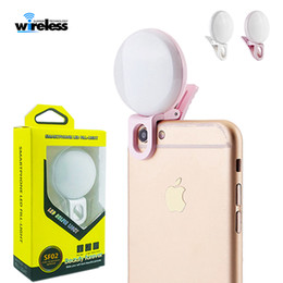 Video ring online shopping - Universal LED Selfie Light Ring Light Laptop Camera Photography Video Lighting Clip On Rechargeable light for iphone xs samsung