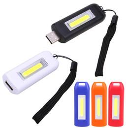 $enCountryForm.capitalKeyWord Australia - Rechargeable USB Mini LED Keychain Light Lamp Key Chain Portable