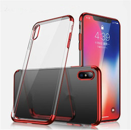 $enCountryForm.capitalKeyWord NZ - Metal Electroplating 3 in 1 Soft TPU Clear Cell Phone Case For iPhone X XR XS MAX 8 7 6 6S Plus S8 S9 plus note 9 Anti-shock Protector Cases