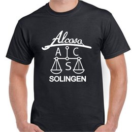 $enCountryForm.capitalKeyWord Australia - Alcosa ACS Solingen WW2 WWII German dagger sword blade knife maker mark t shirt Funny free shipping Unisex Casual tee gift top