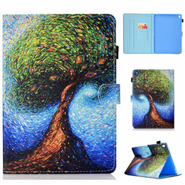 ipad pro leather folio 2019 - PU Leather Case For Apple iPad Pro 9.7 Cover Fundas Tablet Fashion Painted Skin Flip Stand Shell For iPad Pro 9.7 cheap