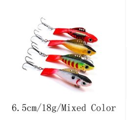 Chinese  JOHNCOO 4pcs Hard Fish Vib Ice Fishing 12g 18g Fishing Bait Minnow Pesca Artificial Bait Fishing Lure Winter Wobber manufacturers