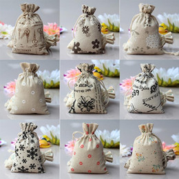Discount small handmade gifts - New Small Pouch Wholesale Handmade Candy Drawstring Bags Packaging Environmental Protection Children's Best Love Gi