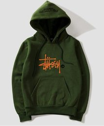 Wholesale hoodies thick men for sale – custom Fashion New fashion Warm hoodie embroidery men women fashion sweatshirts hooded mens skateboard pullover hoodies men hoodie