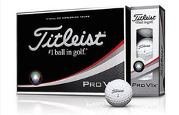 Nouveau golf dhl golf PRO v1 v1x balles de golf club clubs une douzaine = une boîte = golf 12 balles.
