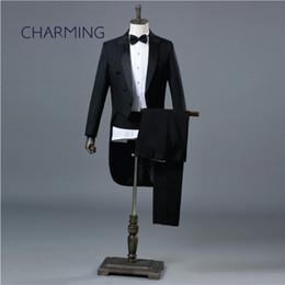 $enCountryForm.capitalKeyWord Australia - Groom tuxedo Suitable for the magician stage choir Symphony Orchestra conductor costume singer men wedding tuxedos
