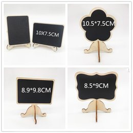 Wholesale DIY Assembling Mini Small Blackboard Wedding Ceremony Seat Card Festive Decor Party Supplies Favor Office Label Wooden Board xp bb