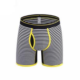 8e7620fa2e71 Cotton Mens long leg Underwear Men Boxers Pour Homme Breathable Male Sexy Boxer  Shorts Men's Underpants Mesh Cloth