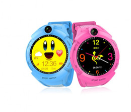 Glasses Anti Tracking Australia - 1pcs 2018 New GPS tracking Watch for Kids Q610S baby watch LBS GPS Locator Tracker Anti-Lost monitor SOS Call Smartwatch Child