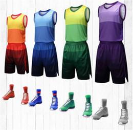 Traje de baloncesto de tela de poliéster transpirable jerseys de baloncesto  para niños. Ropa de 621248896d546